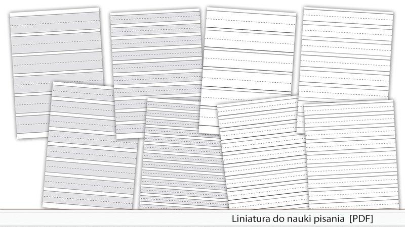 Liniatura Do Nauki Pisania Pdf 500zl Kreatywnewrotapl