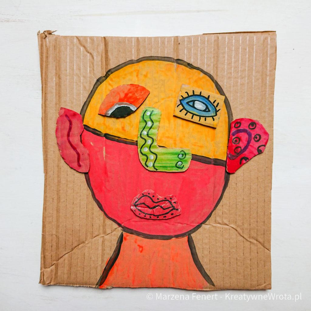 Picasso - puzzle z kartonu